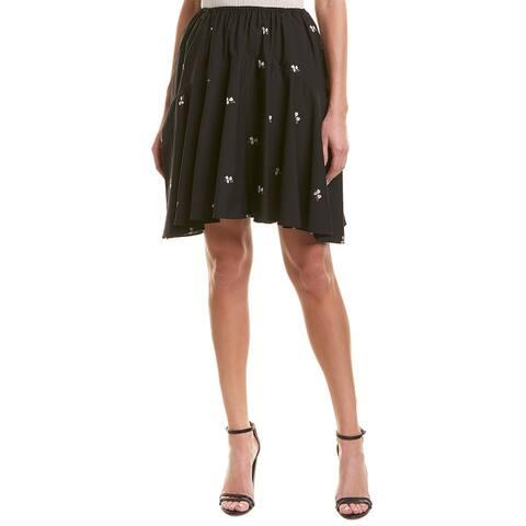 Vince Embroidered Skirt