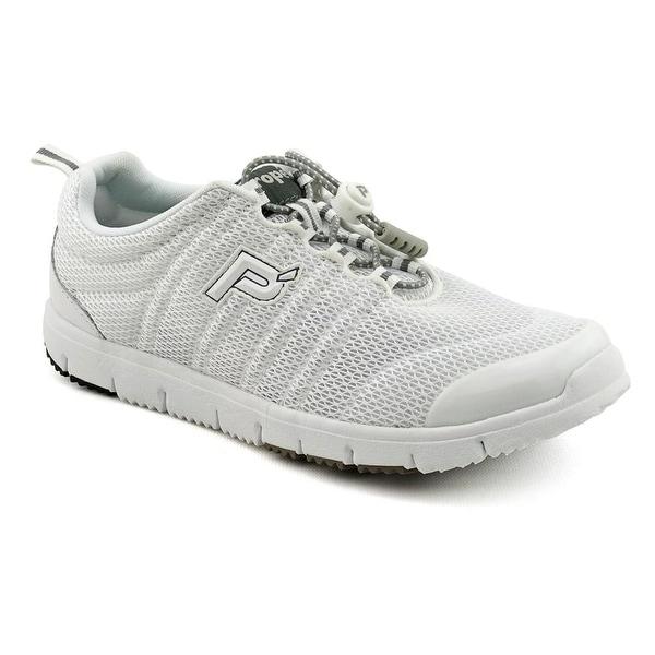 Propet Travel Walker II Elite 2E Round Toe Synthetic Walking Shoe