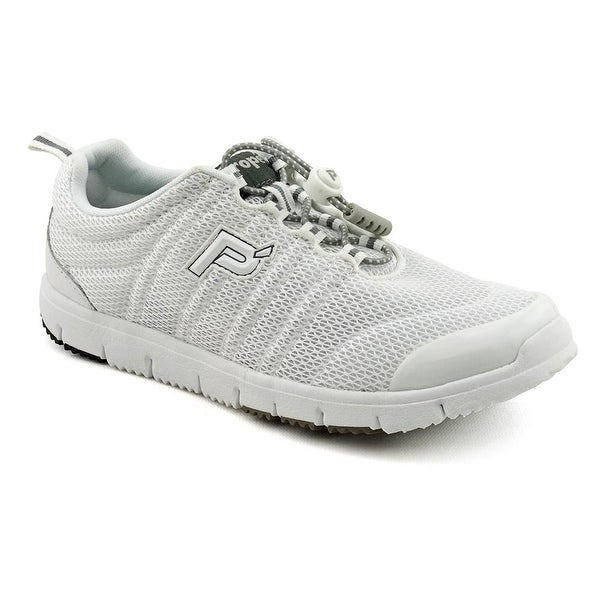 Propet Travel Walker II Elite White Walking Shoes