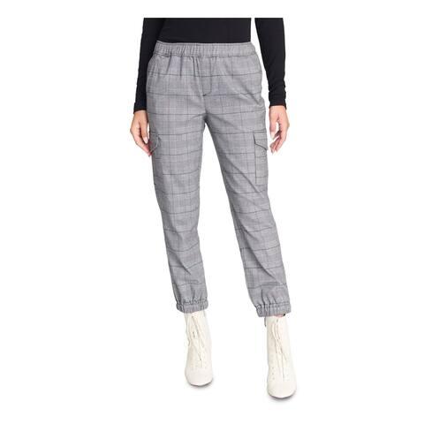 SANCTUARY Womens Black Check Capri Pants Size XL