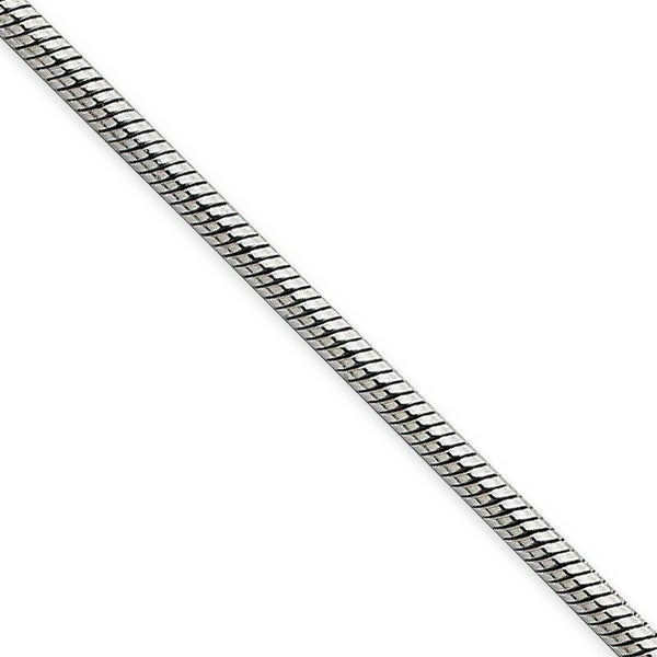 Chisel Stainless Steel 2.4mm 22 Inch Snake Chain (2.4 mm) - 22 in