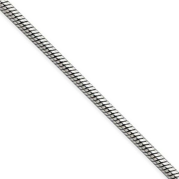 Chisel Stainless Steel 2.4mm 24 Inch Snake Chain (2.4 mm) - 24 in