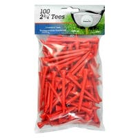 Intech 2 3/4-Inch Golf Tees 100-Pack (Red)
