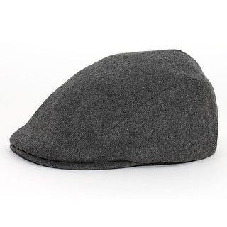 Wool Blend Ivy Cap, Charcoal