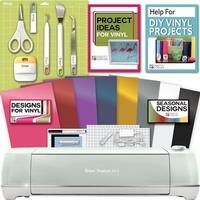 Cricut Explore Air 2 Machine Bundle - Tool Kit, Vinyl Pack, Designs Inspiration