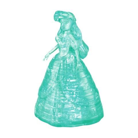 3D Crystal Puzzle - Disney Ariel (Teal) 40 Pcs