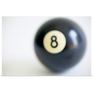 """8 ball"" Poster Print"