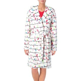Little Blue House by Hatley Northern Lights Wrap Robe Fleece Graphic
