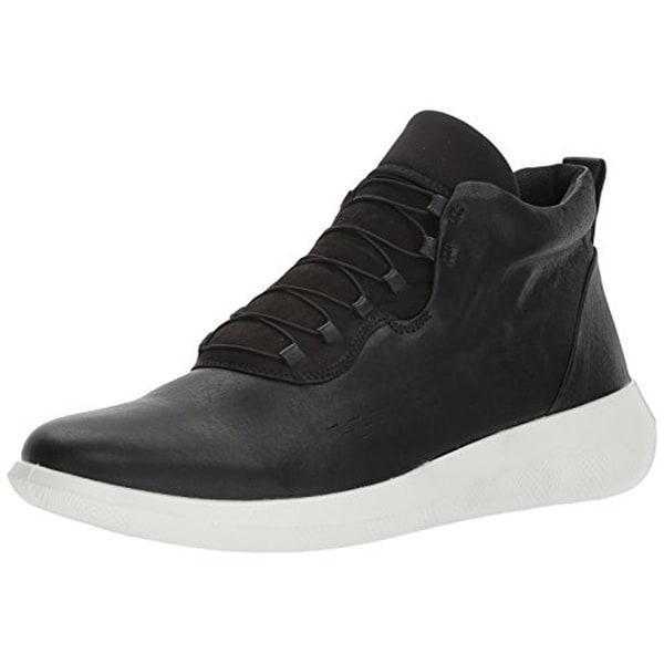 126eb7104d Shop Ecco Men's Scinapse High Top Fashion Sneaker, Black, 40 Eu/6 ...