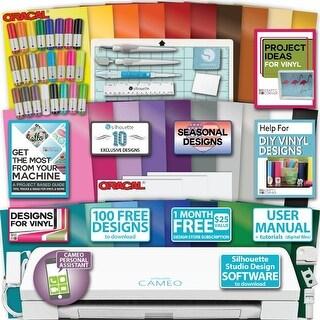 Silhouette Cameo 3 Machine Bundle 30 Oracal Vinyl Xfer Ppr Designs Tools