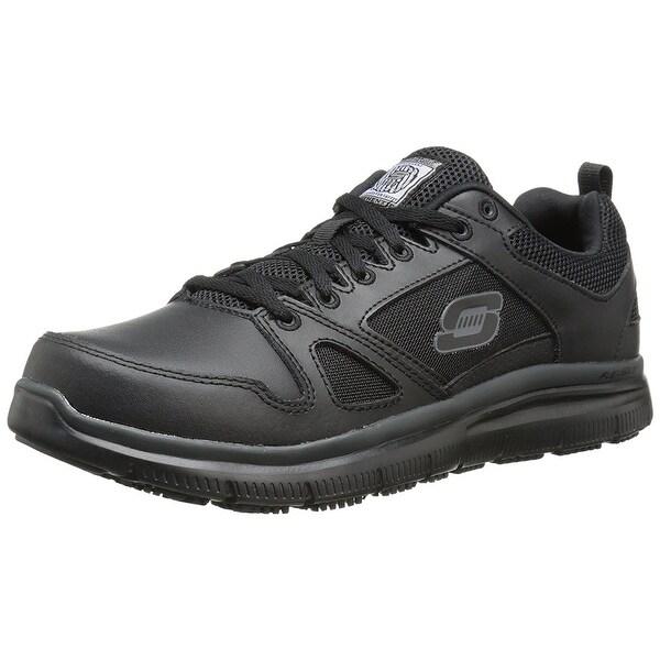 for Work Men's Flex Advantage Slip Resistant Oxford Sneaker