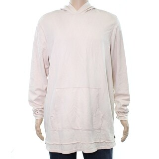 American Rag Pearl Blush Pink Mens Size Medium M Hooded Sweater