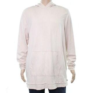 American Rag Pearl Blush Pink Mens Size Medium M Hooded Sweater