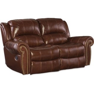 Shop Hooker Furniture Ss601 02 087 68 Inch Wide Leather Loveseat
