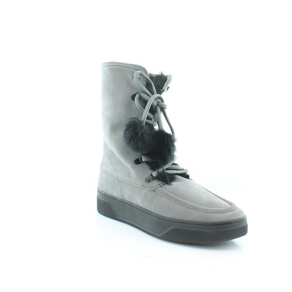 Michael Kors Juno Lace-Up Women's Boots Storm - 10