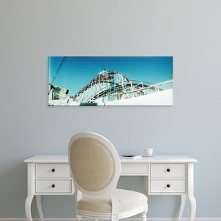 Easy Art Prints Panoramic Images's 'Rollercoaster, Coney Island Cyclone, Brooklyn, New York City, New York' Canvas Art