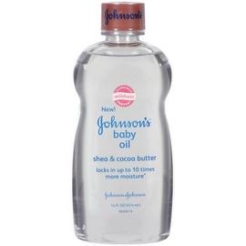 JOHNSON'S Baby Oil Shea & Cocoa Butter 14 oz