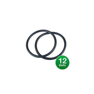 Genuine Vacuum Belt for Eureka 67100A (6-Pack) Eureka Belt 67100A