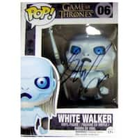 George Rr Martin Autographed Game of Thrones White Walker Pop Toy