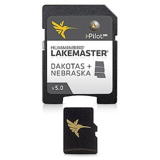 Humminbird Lakemaster Chart Dakotas Nebraska Edition Version 5 Map card 600013-3