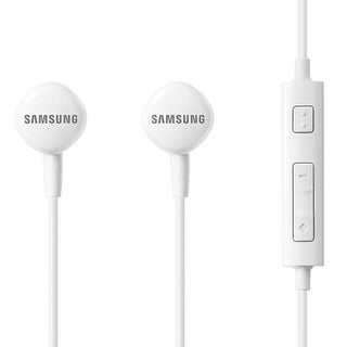 Samsung-HS130 Wired Headset - White EO-HS1303WEST2 Wired Headset