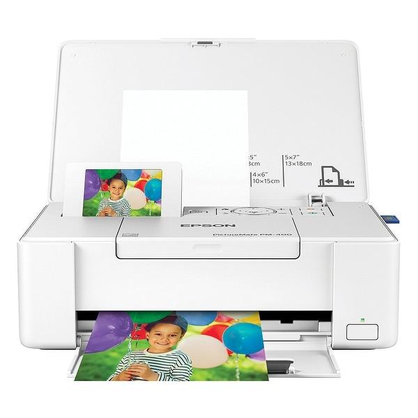 Epson America C11ce84201 Picturemate Pm-400 Personal Photo Lab, White