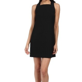 RACHEL ZOE NEW Black Women's 2 Back-Buckle Sheath Stanley Dress