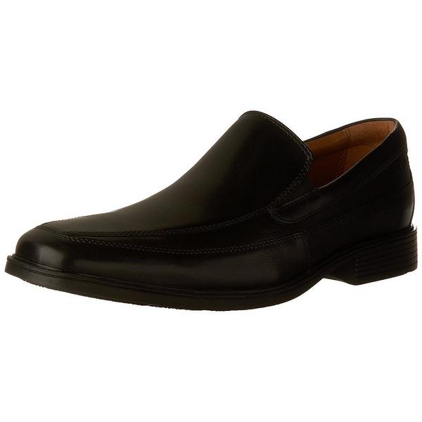 389e579796 Shop CLARKS Mens Tilden free Leather Square Toe Penny Loafer - Free ...