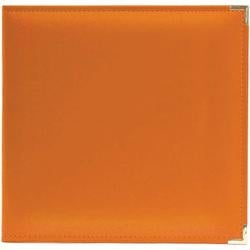 """Orange Soda - We R Classic Leather D-Ring Album 12""""X12"""""""