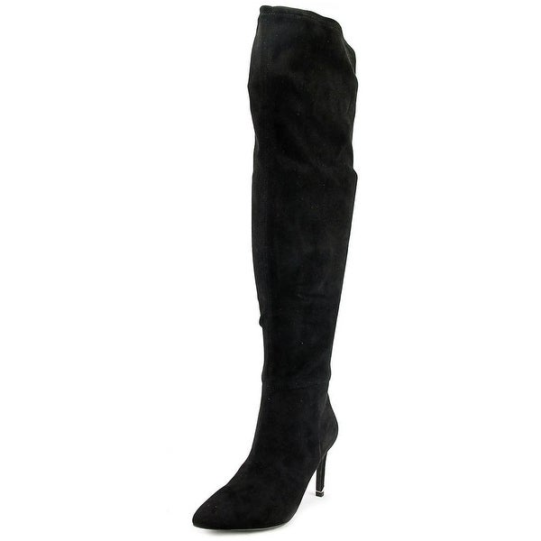 Call It Spring Rosenman Pointed Toe Leather Over the Knee Boot