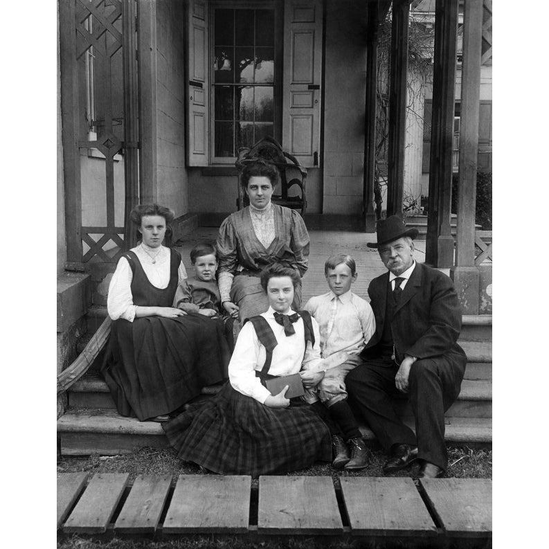 Grover Cleveland And His Family History