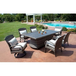 Link to Barcalounger Outdoor Living Captiva Isle 7pc Dining Set with Swivel Chairs and Dining Table Similar Items in Patio Furniture
