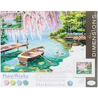 "Paint Works Paint By Number Kit 14""X11""-Willow Spring Beauty"