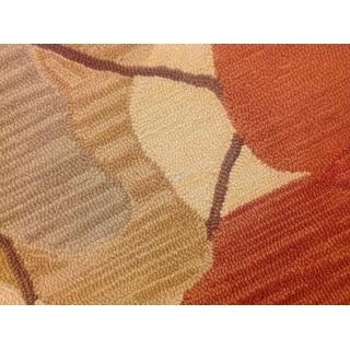 Momeni Summit Sand Hand-Hooked Rug (8' X 10')