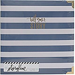 "Heidi Swapp Storyline 2 D-Ring Album 8.5""X11""-Watercolor"