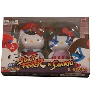Hello Kitty Street Fighter 2 Figure Pack M.Bison & E.Honda