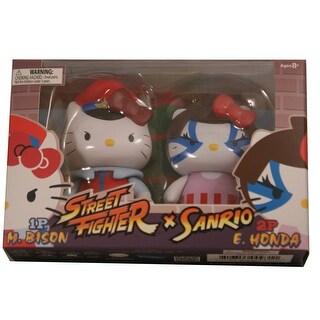 Hello Kitty Street Fighter 2 Figure Pack M.Bison & E.Honda - multi