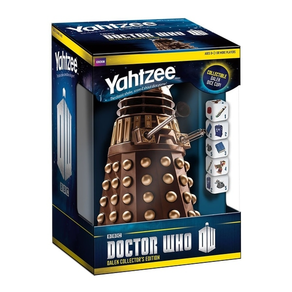 Yahtzee Dr. Who Dalek Collector's Edition Game - multi