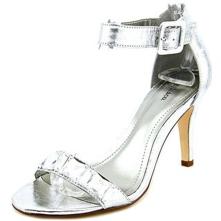 Style & Co Tylda Women Open Toe Synthetic Silver Platform Sandal