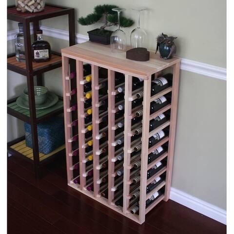 Creekside 40 Bottle Table Top Wine Rack