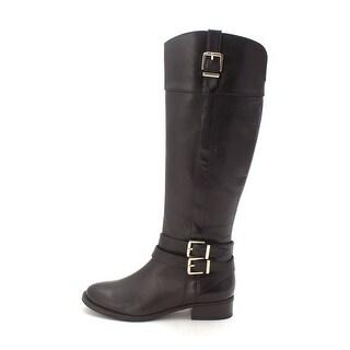 INC International Concepts Womens Frankii Leather Closed Toe Mid-Calf Fashion... - 6