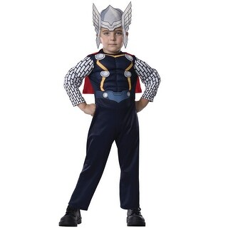 Rubies Deluxe Thor Toddler Costume - Multi