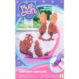 Bunny Pillow - Plushcraft Fabric By Number Kit