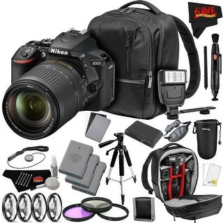 Nikon D5600 DSLR Camera with 18-140mm Lens International Version + Advanced Manfrotto Backpack Combo