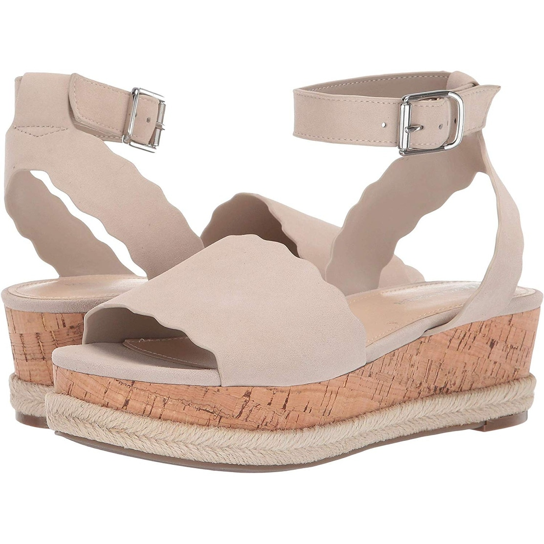 Marc Fisher Womens Faitful Leather Open