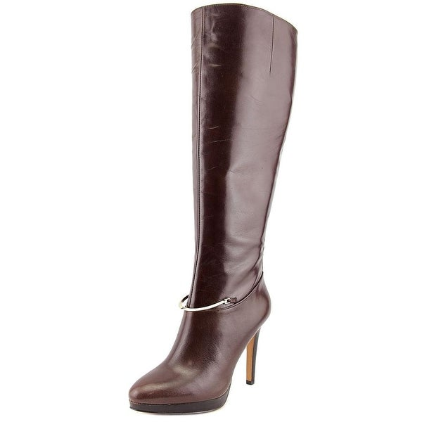 1f4d1d4ac758 Shop Nine West Pearson Wide Calf Women Round Toe Leather Knee High ...