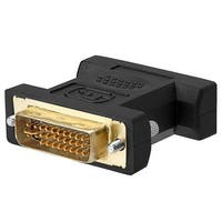 DVI-A Male to VGA Male Adapter GOLD