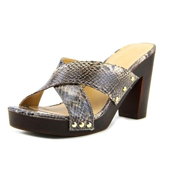 Thalia Sodi Ivanna Women Open Toe Synthetic Multi Color Sandals