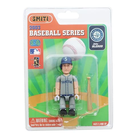 "Seattle Mariners MLB Baseball SMITI 3"" Mini Figure: John Olerud - multi"