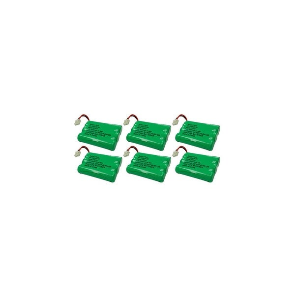 Replacement Battery For VTech i6763 Cordless Phones - 27910 (600mAh, 3.6V, NiMH) - 6 Pack